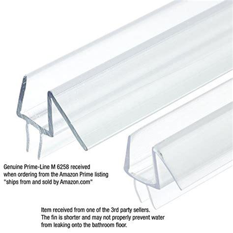 Frameless Shower Door Gasket Prime Line Products M 6258 Frameless Shower Door Bottom Seal 3 8 In X 36 In Vinyl Clear In