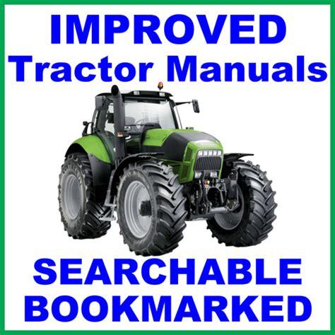 Deutz Fahr Agrokid 30 40 50 Tractor Workshop Service