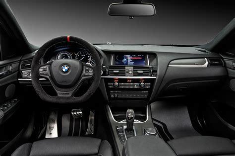 bmw interior parts 2015 bmw x4 m performance parts interior cockpit 346864