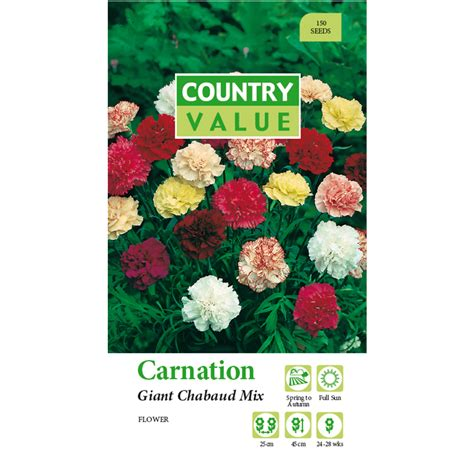 Country Value Marigold Mixed bunnings country value country value chabaud carnation mix flower seeds compare club