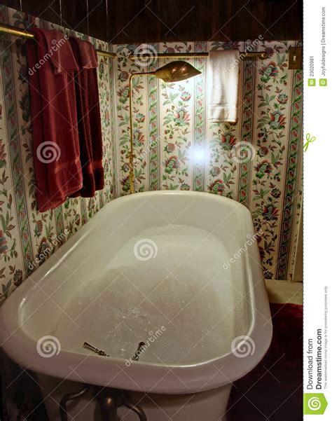 Fashioned Shower by Fashioned Claw Tub Bath Stock Image Image