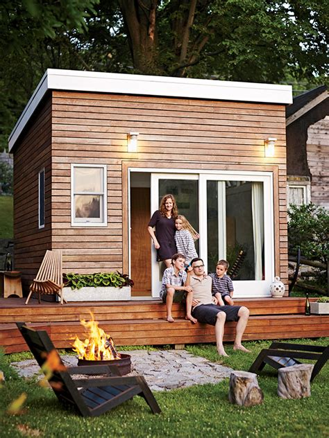 tiny house in backyard tiny house town a diy 168 sq ft backyard studio
