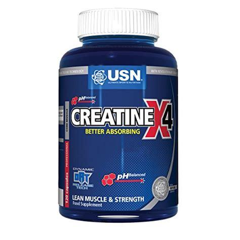 creatine 4 hour usn creatine x4 lean and strength capsules