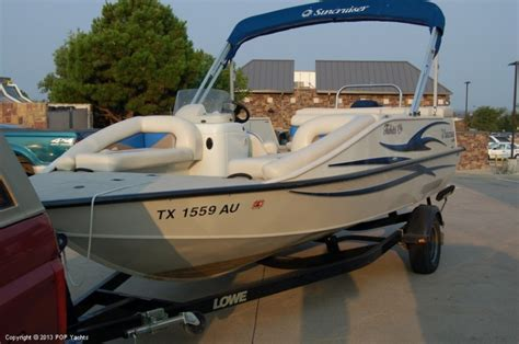 lowe deck boat deck boats for sale