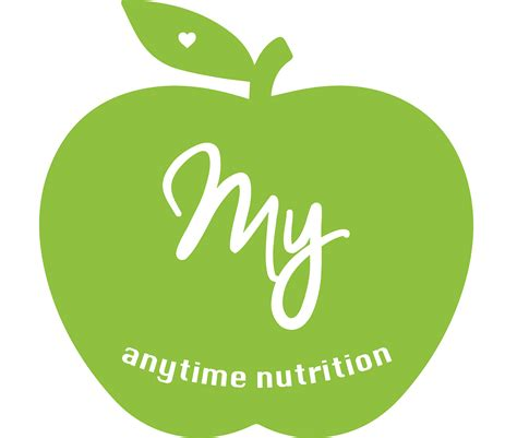 Anytime For my anytime nutrition