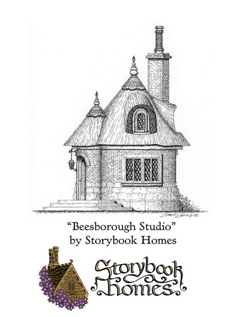 storybook house designs the beesborough studio designed by storybook homes in the