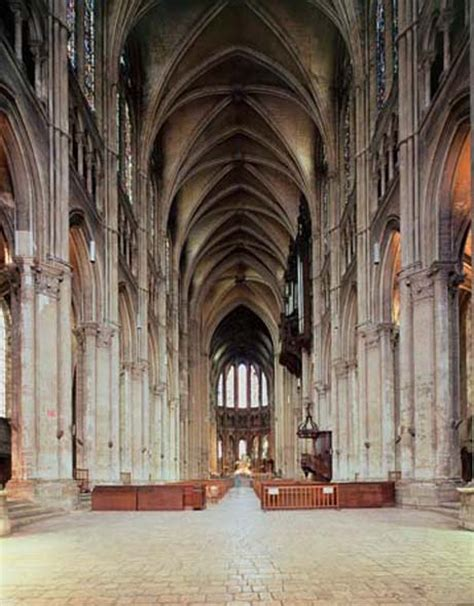 Chartres Cathedral Interior by Images And Places Pictures And Info Chartres Cathedral
