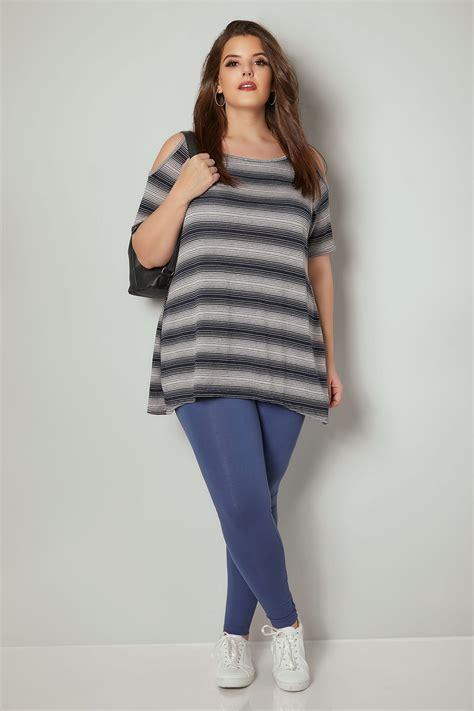 div placement denim blue cotton essential plus size 16 to 36