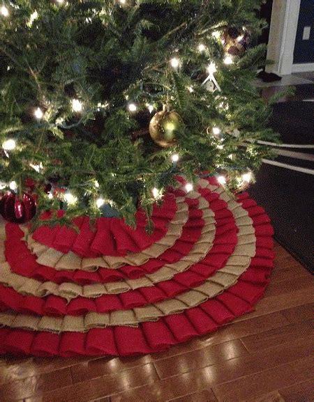 20 amazing diy burlap christmas tree skirt patterns
