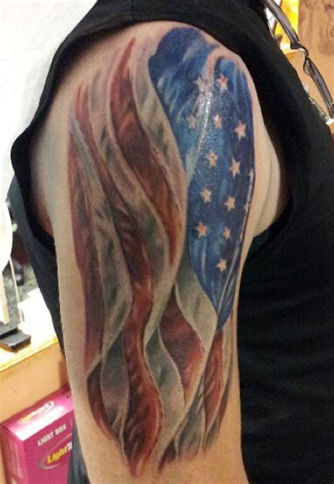 flag tattoos and designs page 11