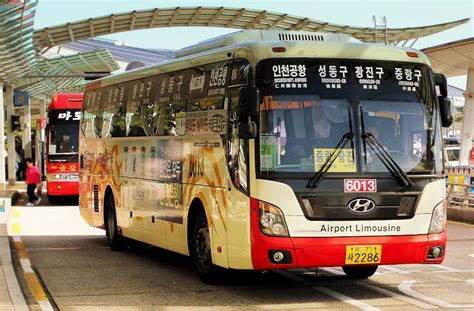 by bus from incheon airport south korea korea4expats incheon airport buses seoul transport guide travelvui