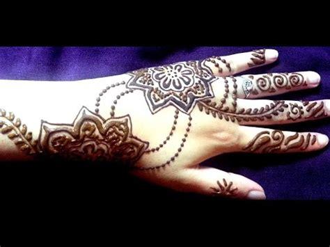 tattoo apply youtube arabic henna design simple floral mehendi tattoo how