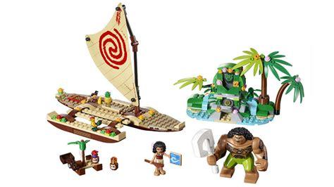 Lego Petualangan Moana 3 look at lego sets from disney s upcoming moana