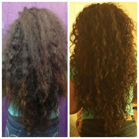 devacurl before and after pin by lindsey graves on hairs pinterest