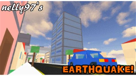 earthquake game earthquake roblox