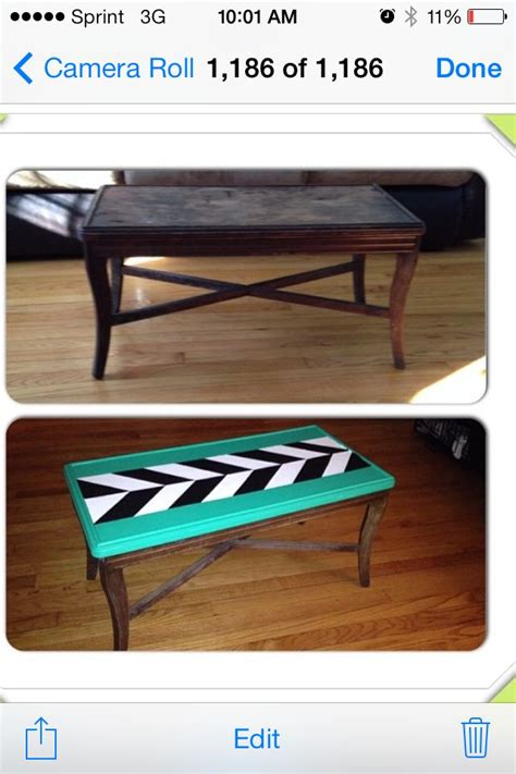 refurbishing a coffee table refurbished coffee table crafts gift ideas