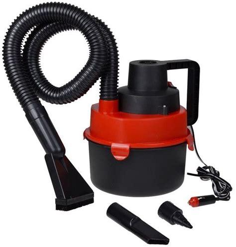 portable 12v canister car vacuum cleaner hose inflation dc ebay