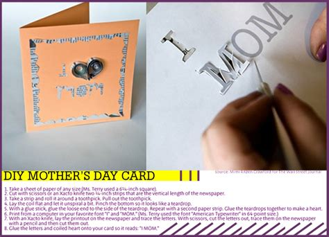 diy mothers day cards diy mother s day card vigoss