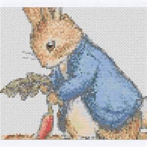 Counted Cross Stitch Ornament Free Patterns - rabbit counted cross stitch pattern