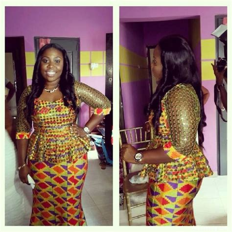 ghana kaba styles 2015 kente kaba and slit styles clothings pinterest style