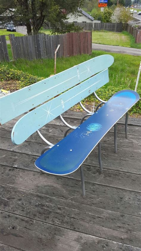 water ski bench 17 best images about gg loves toboggans skis on pinterest skiing wine racks and sled
