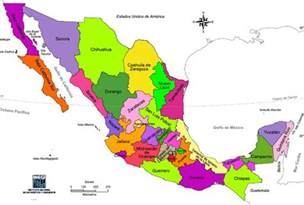 united states of mexico map chapter 5 mexico and central america