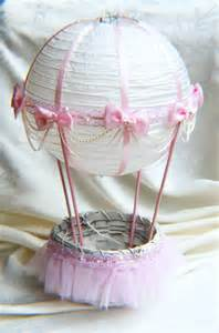 air balloon table centerpieces air balloon baby shower table centerpiece ivory and pink