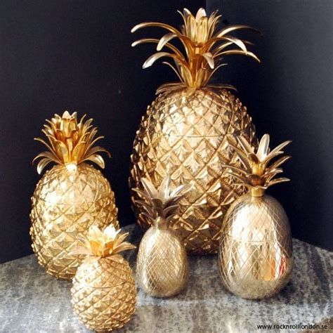 Pineapple Decorations by Mollie S Pineapple Jar Diy