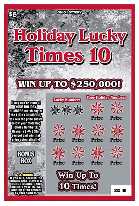 Free Instant Win Scratch Tickets - how to win the ohio lottery instant game scratch off jackpots