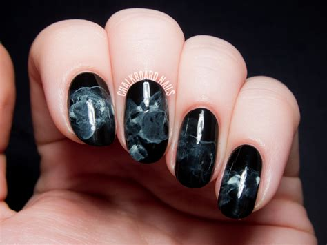 nail art matte tutorial the chalkboard nails halloween nail art rewind