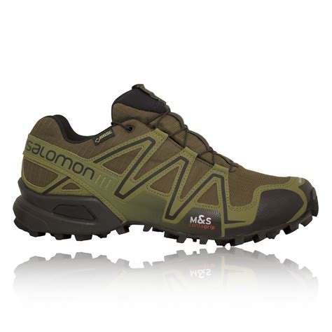 salomon speedcross 3 mens trail running shoes salomon speedcross 3 gtx mens green waterproof