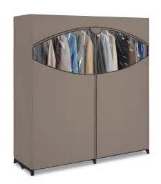 portable closets get a portable wardrobe rack at sears