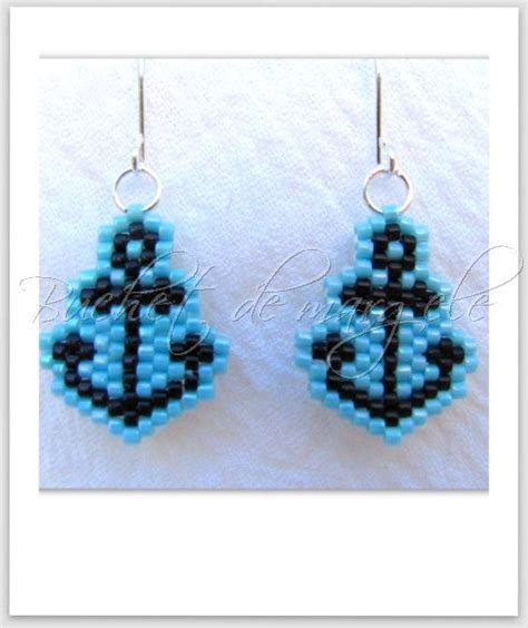 pepita pattern history peyote earrings brick stitch and do do on pinterest