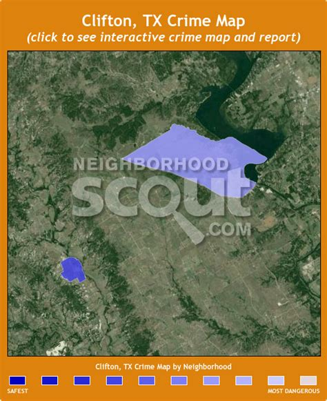 clifton texas map clifton tx 76634 crime rates and crime statistics neighborhoodscout
