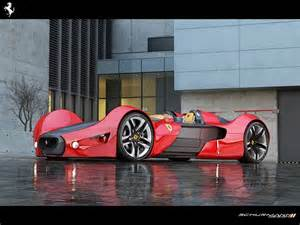 How Many Ferraris Are There In The World The Coolest Is Designed By A Student