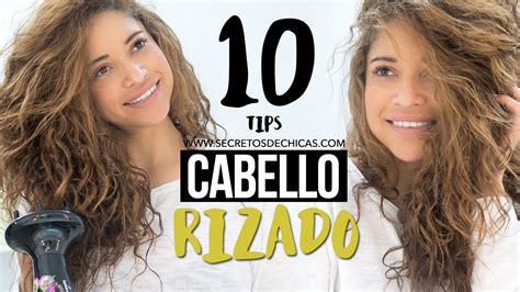 10 tips sobre cmo tener cortes de pelo largo rpidamente 10 trucos para el cabello rizado rizos perfectos youtube