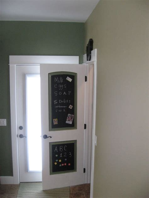 chalkboard paint door a diversity of door styles to hide your pantry with
