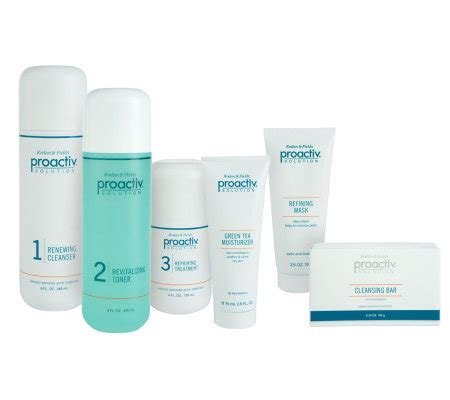 Acnes Set 1 proactiv size 4 pc advanced acne treatment kit w 2 bonuses page 1 qvc