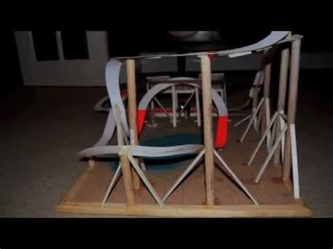 How To Make A Roller Coaster Out Of Paper - model roller coaster