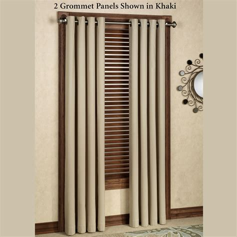 gromet drapes nantucket thermalogic tm grommet curtain panels