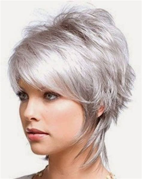 short hairstylescuts for fine hair with back and front view 25 best ideas about short shag on pinterest short shag