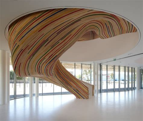 fancy staircase fancy sculptural staircase by tetrarc architects