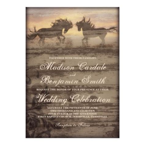 109 Best Images About Rustic Cowboy Wedding Invitations On Pinterest Cowgirl Cards And Cowboy Wedding Invitations Templates