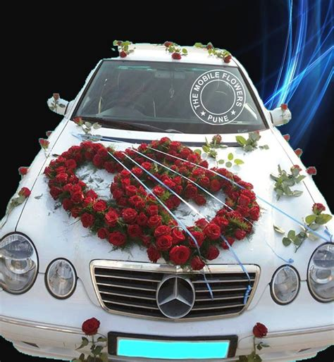 wedding car decorations with flower bouquet pictures wedding car decorations wedding ideas