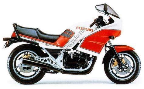 Image Suzuki 1984 Suzuki Gsx 1100 Ef Pics Specs And Information