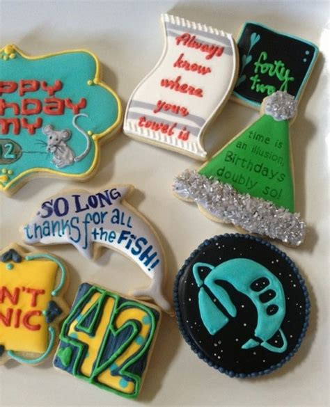 hitchhiker s guide to the galaxy cookies geekish