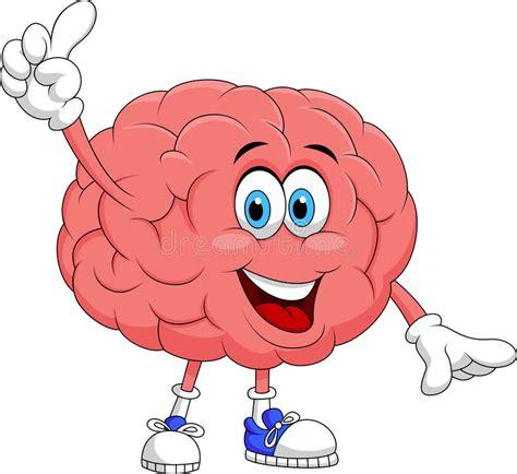 imagenes libres cerebro el se 241 alar lindo del personaje de dibujos animados del