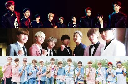 daftar film personil exo exo bts dan seventeen puncaki daftar penjualan album