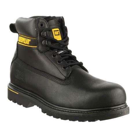 Caterpillar S Black caterpillar holton s3 black safety boots charnwood