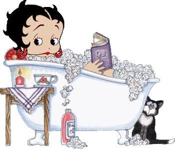 Tweety Singing In The Bathtub Cat Betty Boop Image 1449 Picturescafe